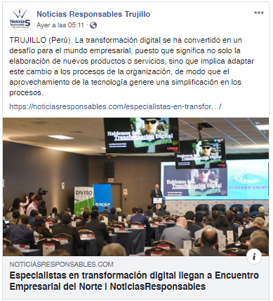 30.09.19.21 Noticias Responsables Facebook Especialistas en Transformación Digital