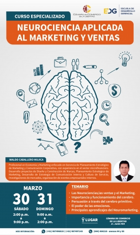 CURSO ESPECIALIZADO EN NEUROCIENCIA APLICADA AL MARKETING Y VENTAS